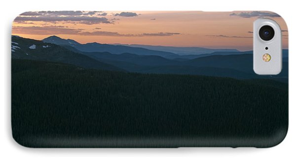 Continental Divide Sunset IPhone Case by Michael Knight