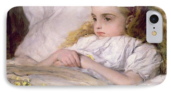 Convalescent IPhone Case by Frank Holl
