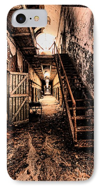 Corridor Creep IPhone Case by Andrew Paranavitana