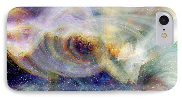 Cosmic Dust Phone Case by Linda Sannuti