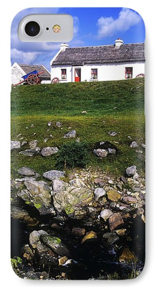 Cottage On Achill Island, County Mayo Phone Case by The Irish Image Collection