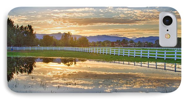 Country Sunset Reflection Phone Case by James BO  Insogna