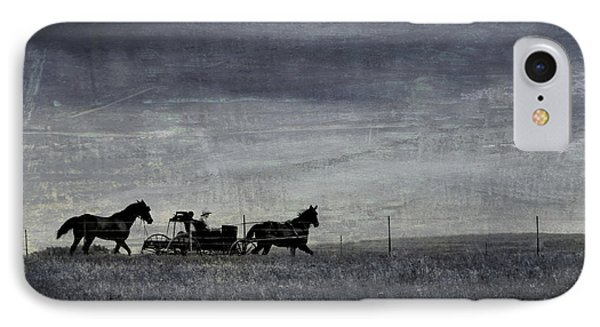 Country Wagon Phone Case by Perry Webster
