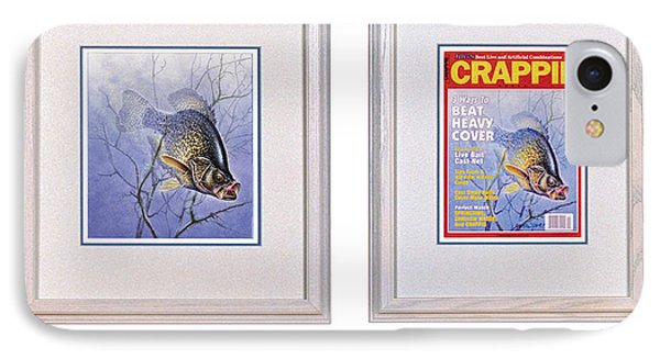 Crappie Magazine And Original IPhone Case by JQ Licensing