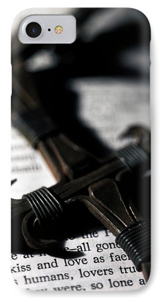 Cross On A Book Phone Case by Fabrizio Troiani