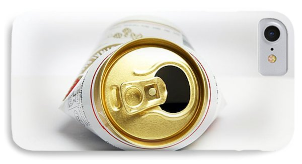 Crushed Beer Can IPhone Case by Victor De Schwanberg