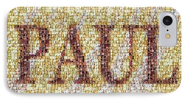 Custom Paul Mosaic Taylor Swift IPhone 7 Case by Paul Van Scott