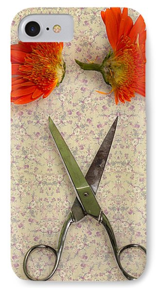 Cutting Flowers Phone Case by Joana Kruse