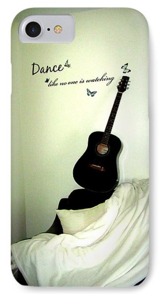 Dance Like No One Is Watching  IPhone Case by Danielle  Parent