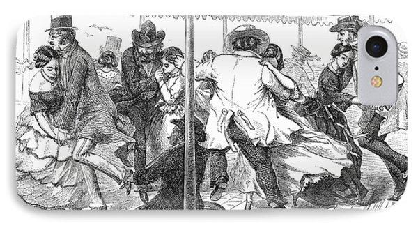 Dance: Polka, 1858 Phone Case by Granger