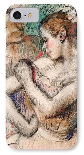 Dancer IPhone Case by Edgar Degas