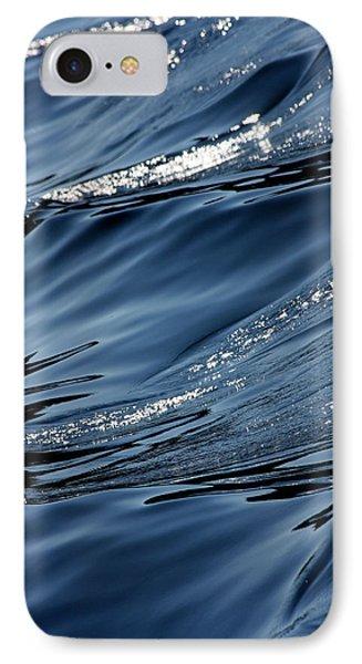 Dancing Waves Phone Case by Marie Jamieson