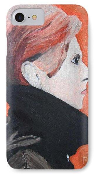 David Bowie Phone Case by Jeannie Atwater Jordan Allen
