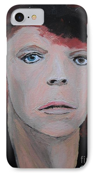David Bowie The Early Years Phone Case by Jeannie Atwater Jordan Allen