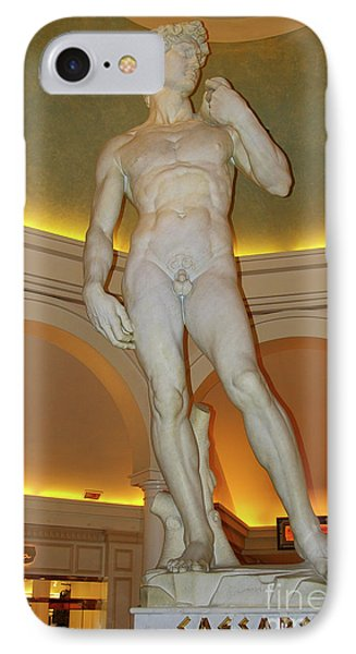 David Michelangelo IPhone Case by Mariola Bitner