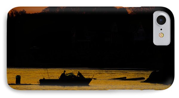 Day Of Fishing Is Over Phone Case by Karol Livote