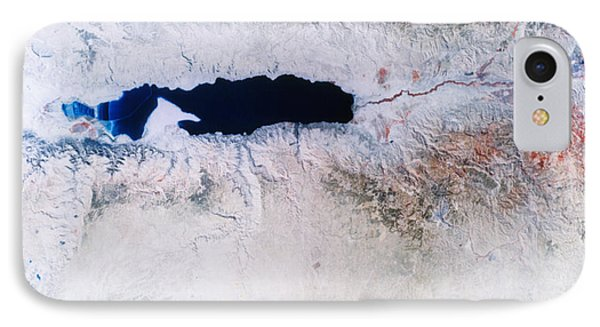 Dead Sea From Space Phone Case by NASA / Science Source