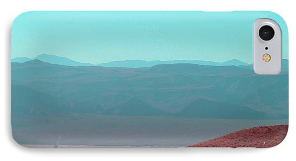Death Valley View 2 Phone Case by Naxart Studio