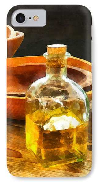 Decanter Of Oil Phone Case by Susan Savad