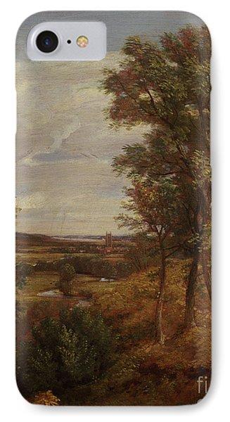 Dedham Vale Phone Case by John Constable