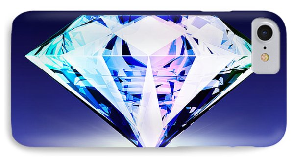 Diamond IPhone Case by Setsiri Silapasuwanchai