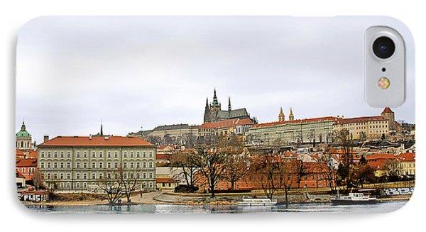 Die Moldau - Prague Phone Case by Christine Till