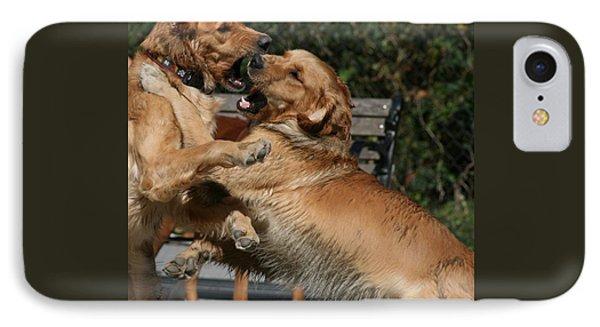 Dog Playground Phone Case by Valia Bradshaw