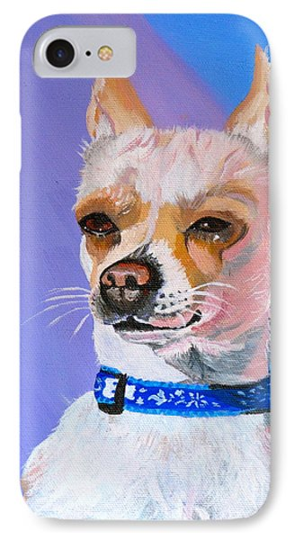 Doggie Know It All Phone Case by Phyllis Kaltenbach