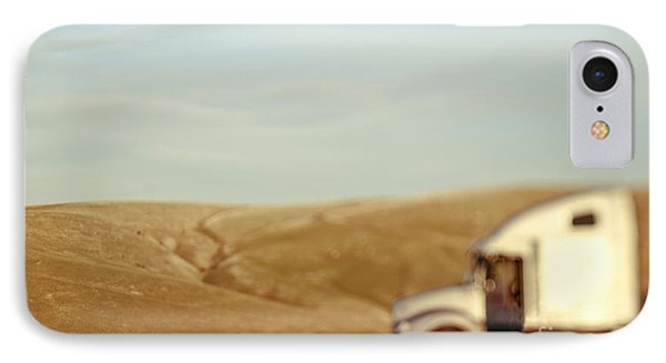 Dogs Sniffing The Ground In Countryside IPhone Case by Eddy Joaquim