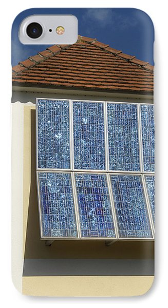 Domestic Solar Panel IPhone Case by Friedrich Saurer