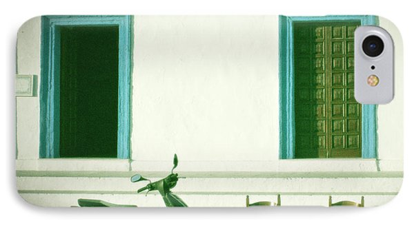 Doors And Chairs Phone Case by Joana Kruse