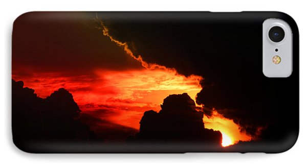 Dramatic Sunset II Phone Case by Emanuel Tanjala