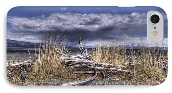 Driftwood By The Sea Phone Case by Michele Cornelius
