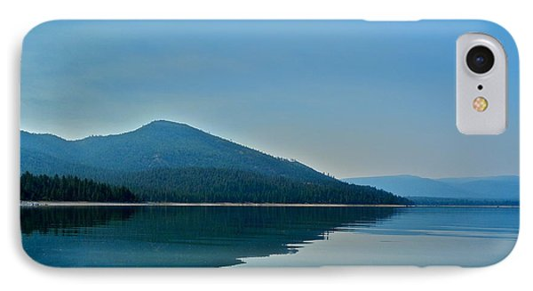 Eagle Lake Blues Phone Case by Kirsten Giving