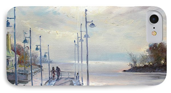 Early Morning In Lake Shore IPhone Case by Ylli Haruni