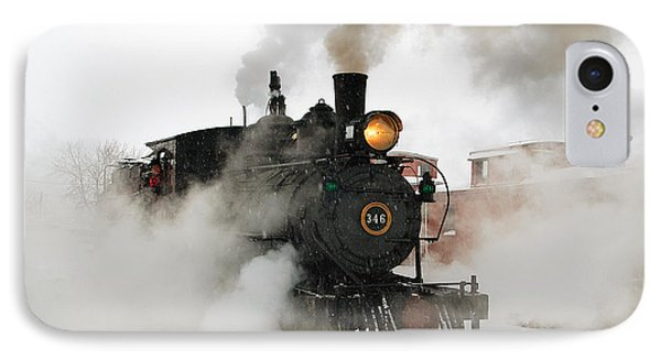 Early Morning Winter Steam Up Phone Case by Ken Smith