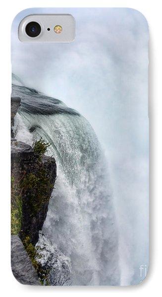 Edge Of Niagara Falls Phone Case by Jill Battaglia