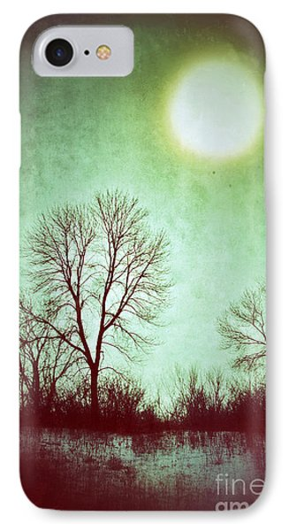 Eerie Landscape IPhone Case by Jill Battaglia