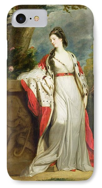 Elizabeth Gunning - Duchess Of Hamilton And Duchess Of Argyll IPhone Case by Sir Joshua Reynolds