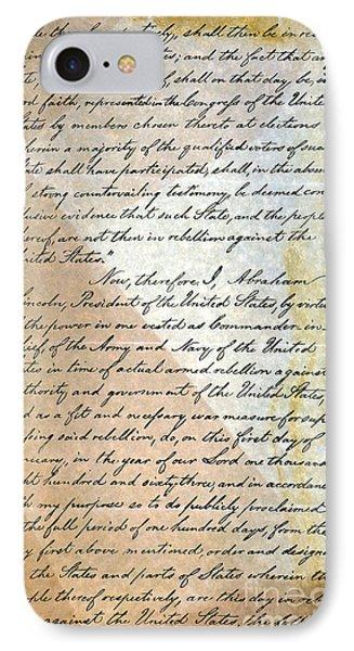 Emancipation Proc., P. 2 Phone Case by Granger