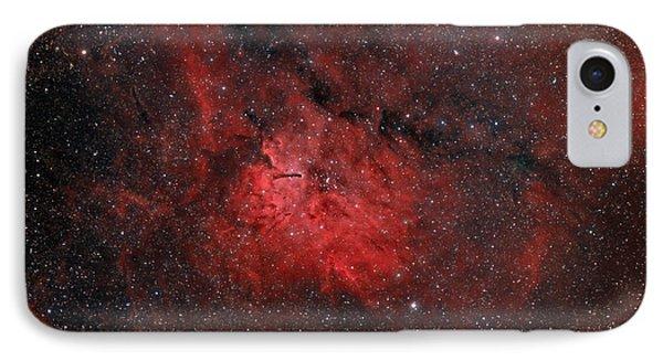 Emission Nebula Ngc 6820 Phone Case by Rolf Geissinger
