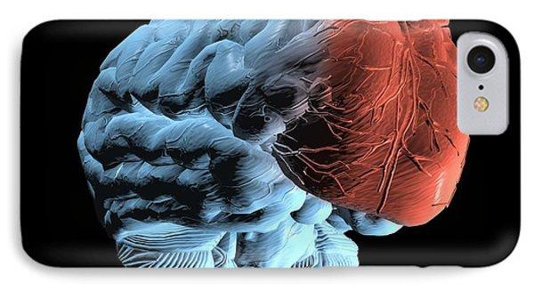 Emotional Intelligence, Computer Artwork IPhone Case by Laguna Design
