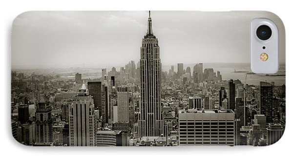 Empire State Phone Case by Ken Marsh