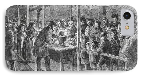 England: Soup Kitchen, 1862 Phone Case by Granger
