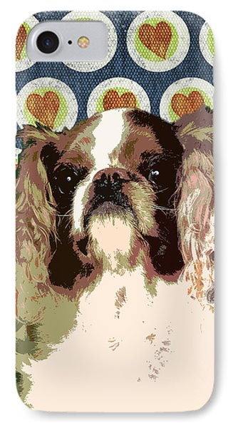 English Toy Spaniel Phone Case by One Rude Dawg Orcutt