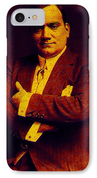 Enrico Caruso IPhone Case by Andrew Fare