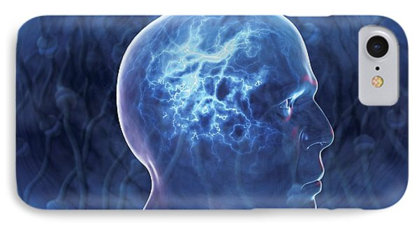 Epilepsy, Conceptual Artwork Phone Case by David Mack