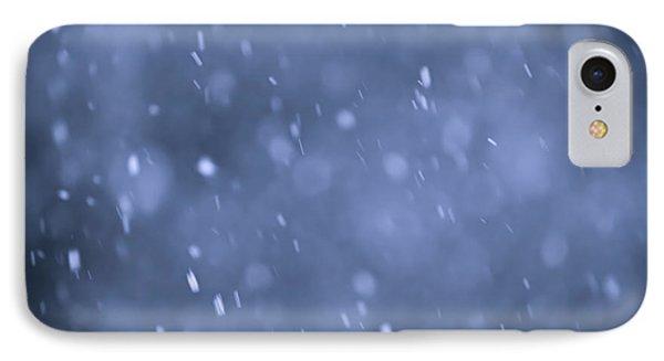 Evening Snow Phone Case by Elena Elisseeva
