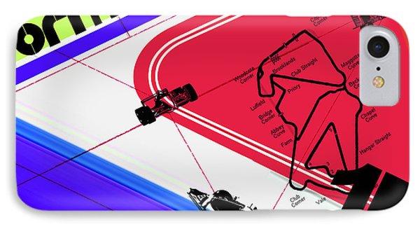 F1 IPhone Case by Naxart Studio