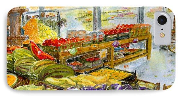Farmer's Market In Fort Worth Texas Phone Case by Barbara Pommerenke